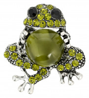 Broche - Sparkling Frog
