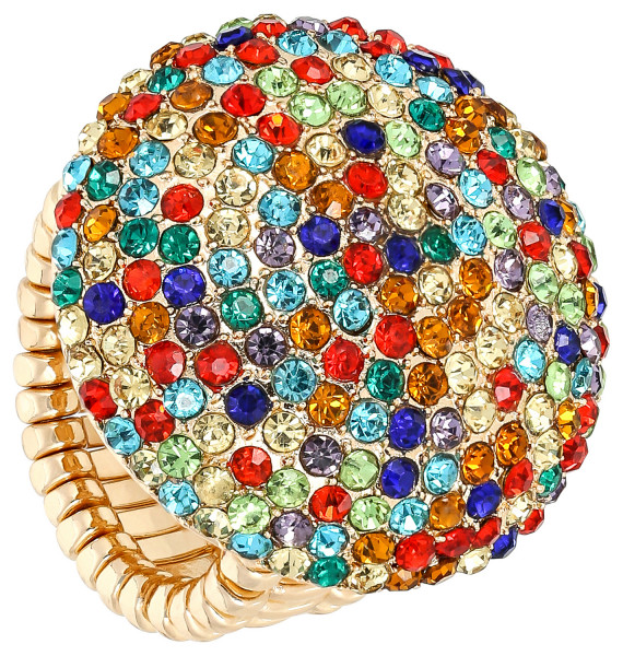 Bague - Colorful Round
