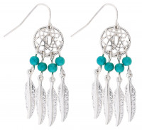 Drop Earrings - Dreamcatcher