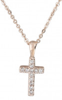 Kette - Shiny Cross No.2