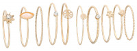 Ringen set - Golden Vintage