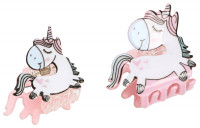 Kinder Haarspangen-Set - Unicorn Family
