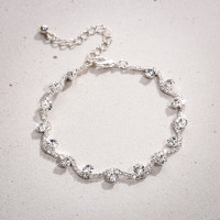 Armband - Silver Wave