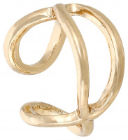 Ear cuff - Golden Infinity