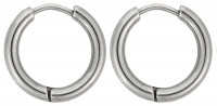 Aros Hombre - Round Stainless Steel