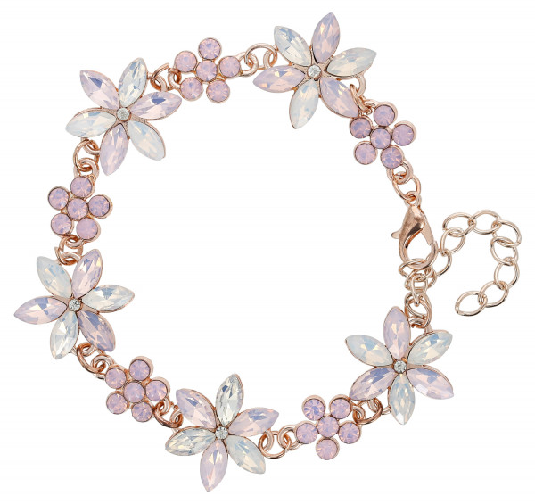 Bracelet - Purple Flower