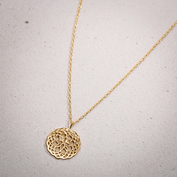 Ketting - Gold Ornament