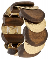 Armband - Golden Wood