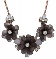 Ketting - Black Flower