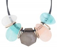 Ketting - Five Pastel Stones