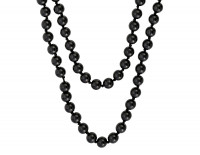 Collar - Black Glass