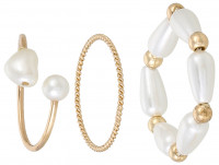 Ringen set - Adorable Pearl