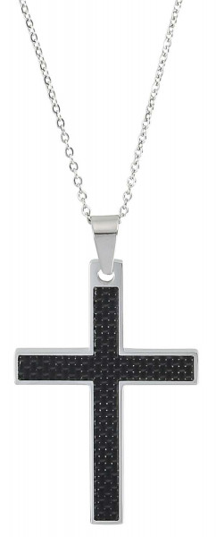 Heren Ketting - Carbon Style