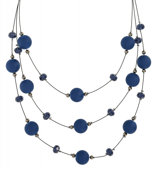 Collier - Blue Raindrops