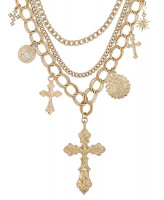 Ketting - Golden Crosses