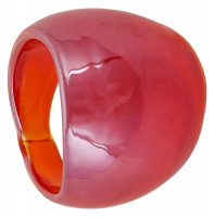 Bague - Red Glass