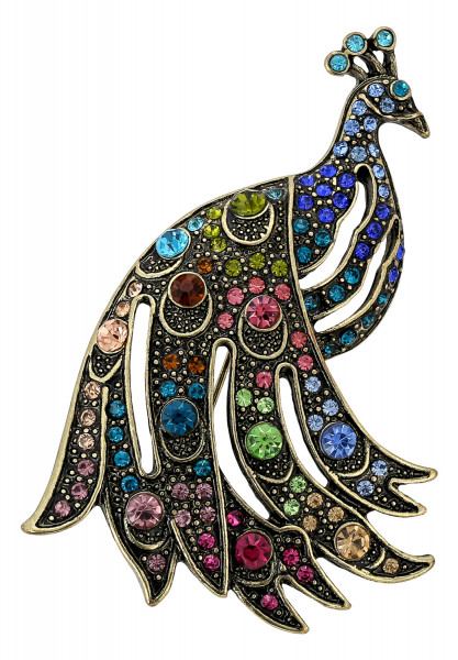 Broche - Pavo real