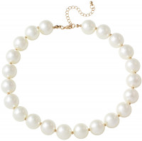 Necklace - Large pearl
