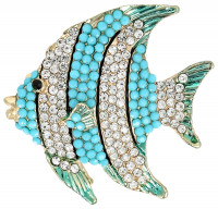 Broche - Tropical Fish