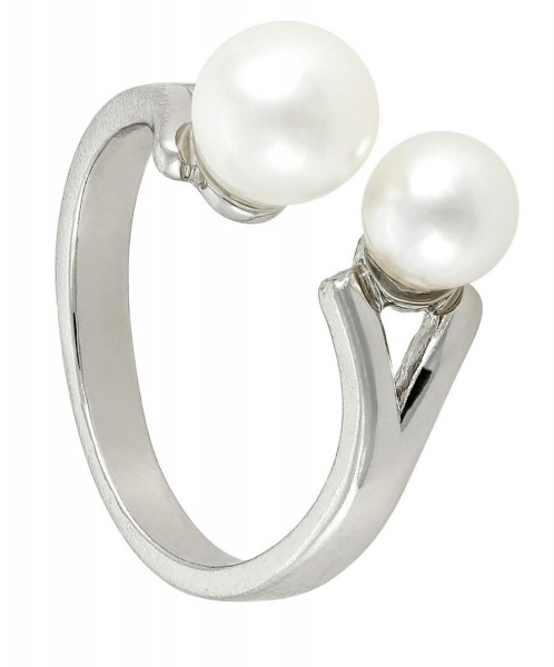 Bague - Double Pearl