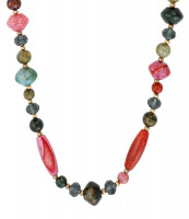 Collar - Colourful Achat
