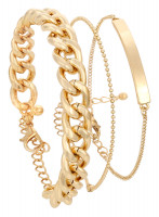 Set braccialetti - Fancy Gold