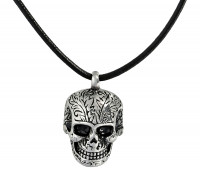 Collier - Scary Skull