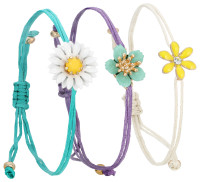 Set-Armband - Lovely Daisy