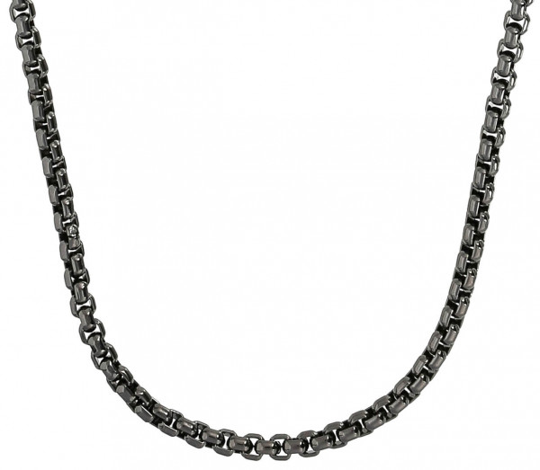 Collar - Black Stainless Steel