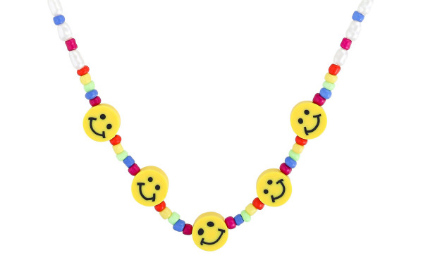 Statement Kette - Smiling Faces