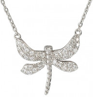 Ketting - Silver Dragonfly