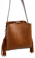 Tas - Brown Fringes