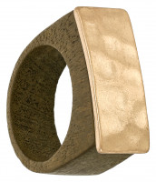 Ring - Wooden Gold