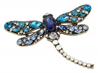 Broche - Antik Dragonfly