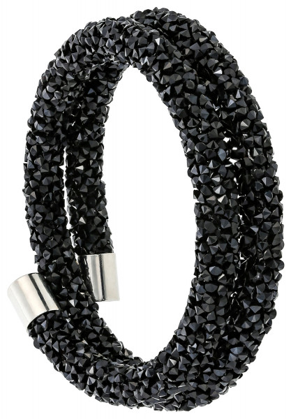 Armband - Black Faceted