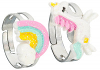 Kinder Ring-Set - Colorful Friends