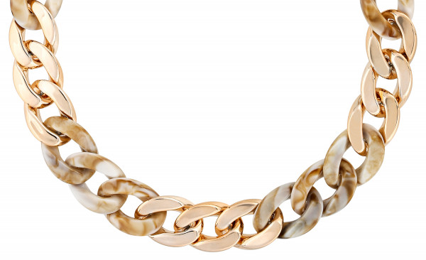 Ketting - Golden Marble