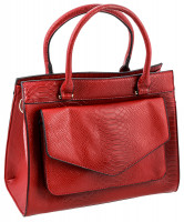 Tasche - Snake in Red
