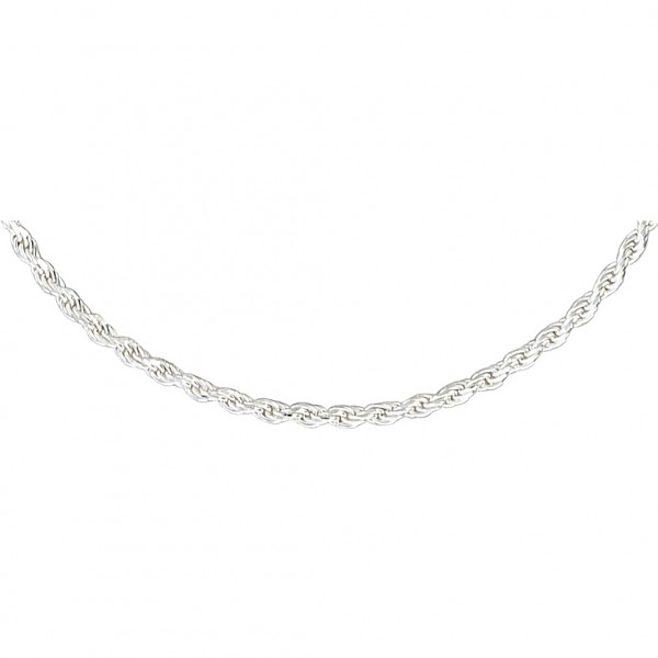 Ketting - Long Silver Twist