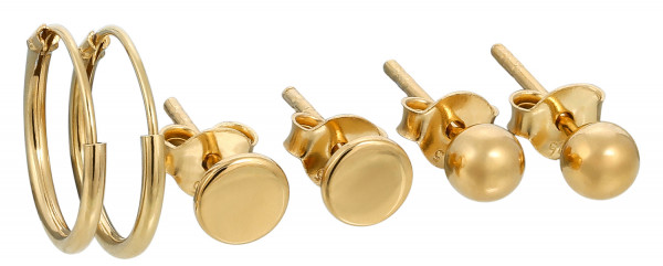 Pendientes - Golden Set