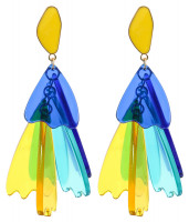 16a9b0ed8649 Pendientes - Blue and Yellow