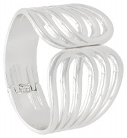 Breed armband - Silver Loops