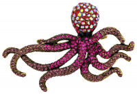 Broche - Shiny Octopus