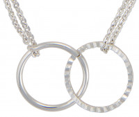 Necklace - Double Ring
