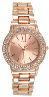 Watch - Rose Gold and Rhinestone