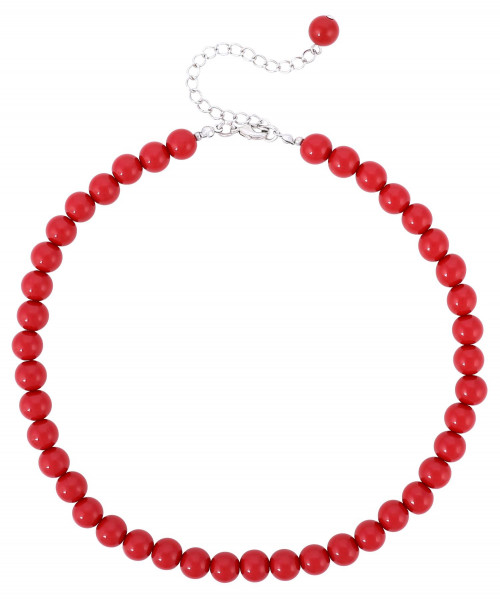 Collana - Red Pearls