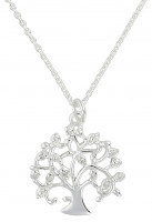 Collier - Silver Tree