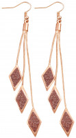 Drop Earrings - Rose Fall