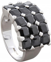 Ring - Cubic Zirconia Black