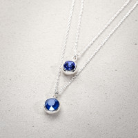 Kette-Set - Shiny Blue